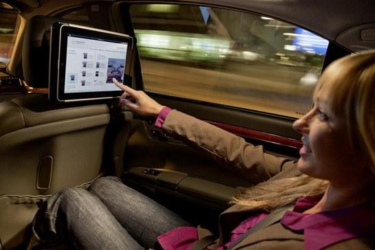 Mercedes-Benz + iPad