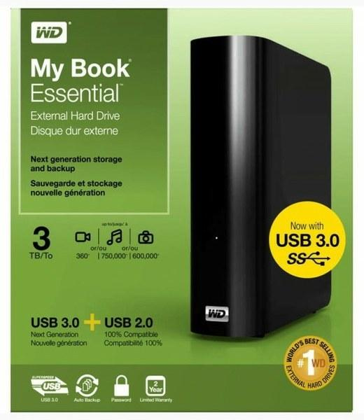 WD My Book Essential 3Тб