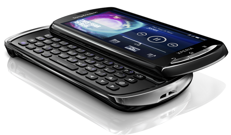 Sony Ericsson Xperia Pro: Android 2.3 плюс QWERTY-клавиатура
