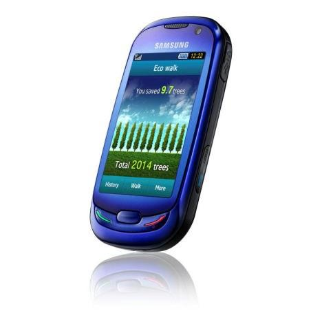 2-место: Samsung S7550 Blue Earth
