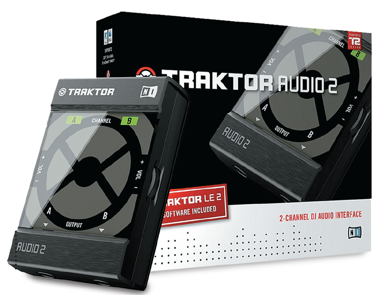 Native Instruments TRAKTOR AUDIO 2 станет центром домашней диджейской установки