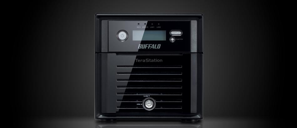 Buffalo TeraStation 5200.Источник - Buffalo
