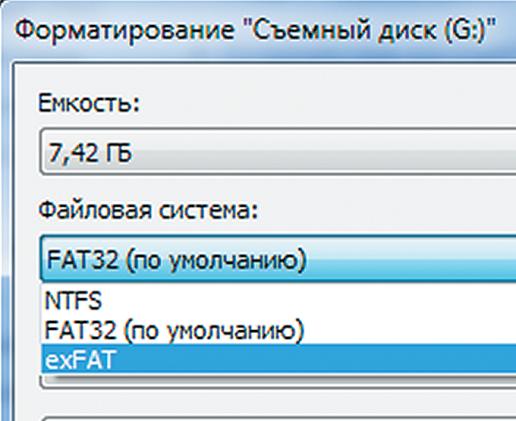 файловая система sd карты для андроид