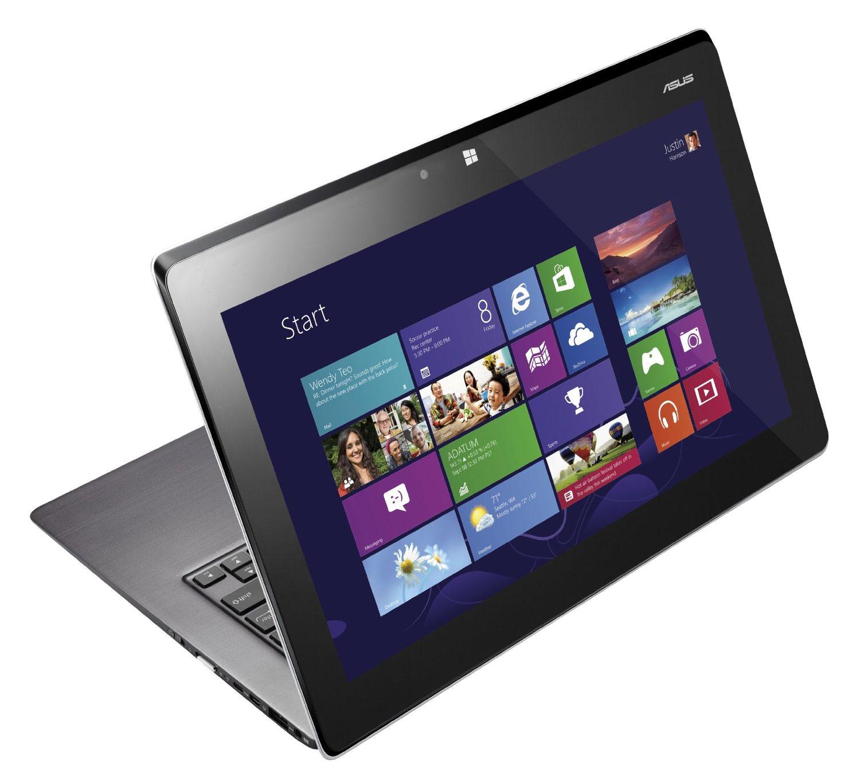 ASUS TAICHI 21 — один из первых лэптопов с дополнительным дисплеем на верхней крышке