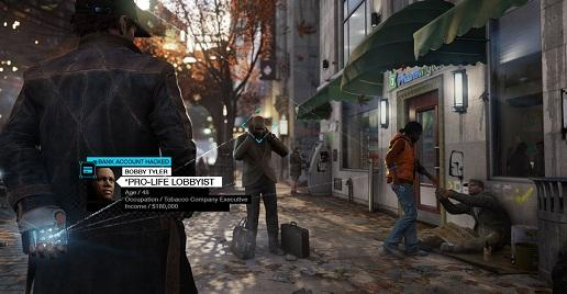Watch Dogs. Скриншот. Источник - http://watchdogs.ubi.com