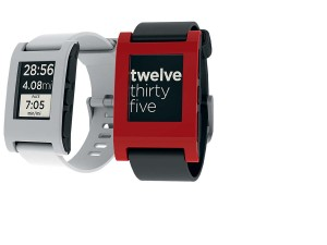 peeble smartwatch