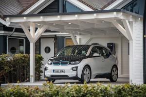 BMW i3 Solar smart home умный дом