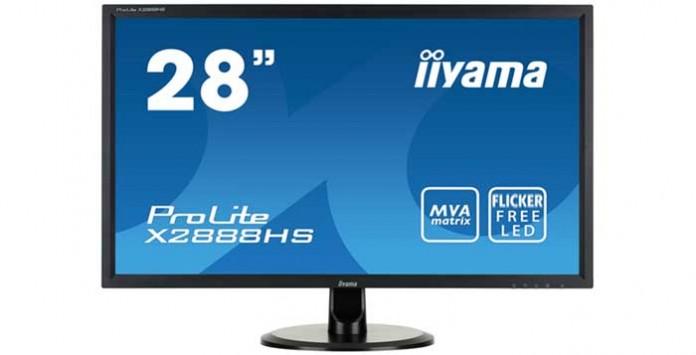 Iiyama выпустила 28-дюймовый монитор X2888HS-B1