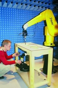 Тестовый стенд финской организации STUK для измерения SAR