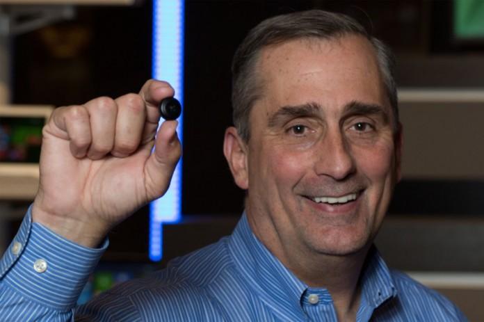Intel Curie: компьютер размером с пуговицу