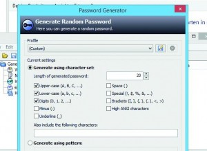 KeePass Generate