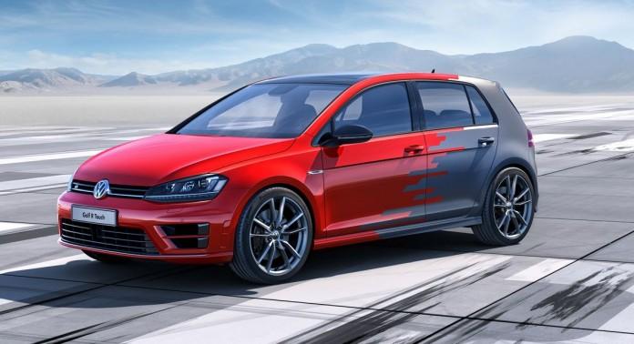 Volkswagen Golf R Touch научился распознавать жесты