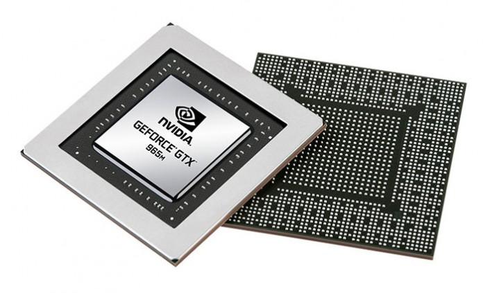 Видеокарта GeForce GTX 965M получила 1024 потоковых процессора