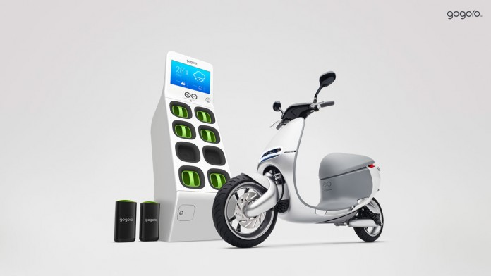Gogoro представила концепт электроскутера для мегаполисов
