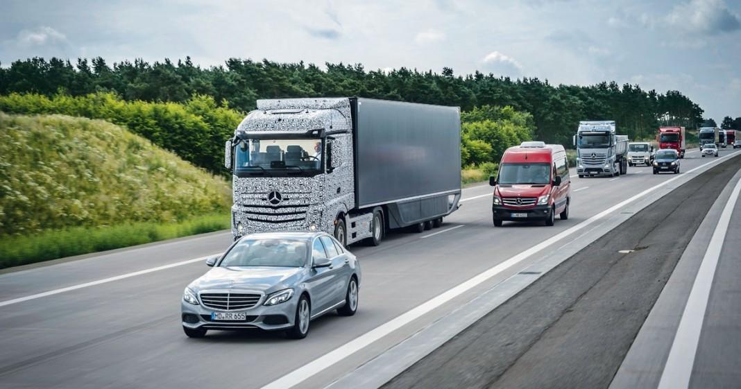 Как работает автомобиль с автопилотом Mercedes-Benz