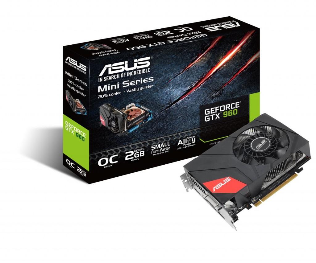 Asus GeForce GTX 960 Mini (модель GTX960-MOC-2GD5)