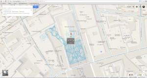 Google maps - street maps «Прогулка по Большому театру»