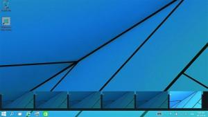 Windows 10 предлагает несколько Рабочих столов. Их превью на Панели задач отобразят содержимое в реальном времени