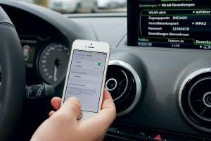 Настройка Wi-Fi Audi S3