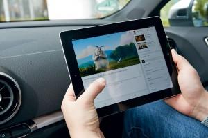Просмотр видео по LTE Audi S3