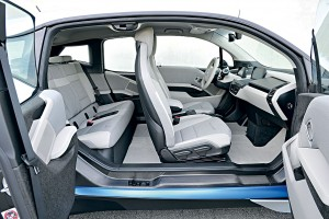 Внутреннее пространство BMW i3
