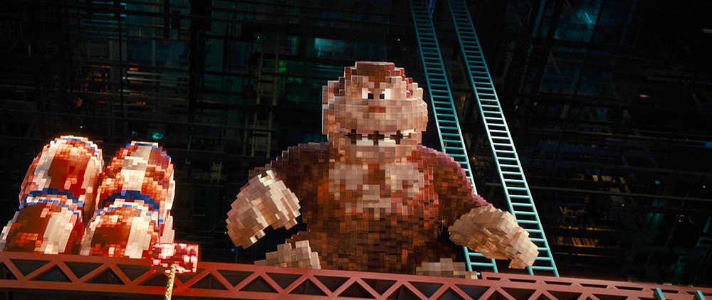 Donkey Kong in Columbia Pictures' PIXELS.