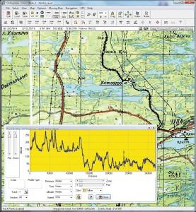 Анализ данных таблицы трека позволяет составить картину высот и возможной скорости передвижения по маршруту