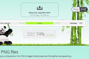 Сжимаем сильнее Онлайн-сервис TinyPNG поможет уменьшить размер графических файлов