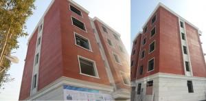 Здание, напечатанное на принтере winsun