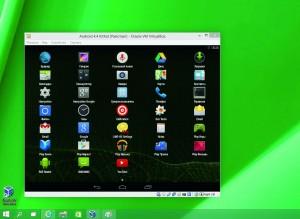 Andriod, запущенный в VirtualBox, по функциям ничем не отличается от  смартфона