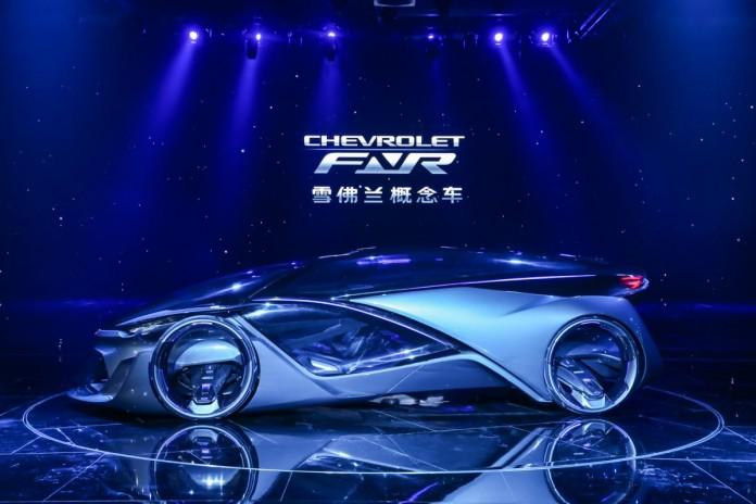 General Motors показала концепт авто будущего Chevrolet-FNR