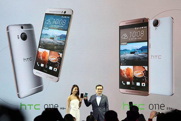 HTC One M9+ дебютировал в Китае