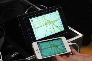 Технология Apple CarPlay дает возможность использовать приложения iPhone, в том числе навигацию