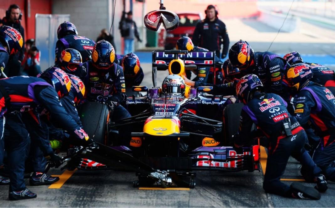 Команда Формулы-1 Infinity Red Bull и Gillette стали партнерами