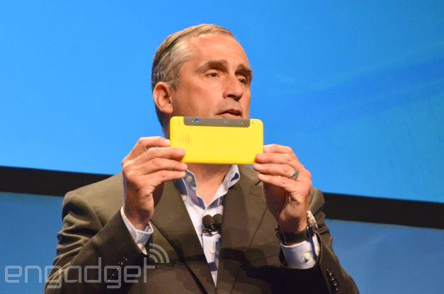 Intel разрабатывает 3D-камеру Real Sense для смартфонов