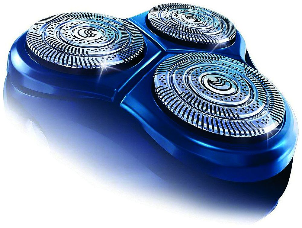 Плавающие головки роторной бритвы хорошо приспосабливается к поверхности кожи, выполняя также функцию массажа