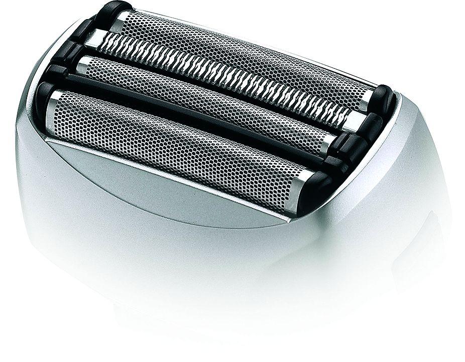 Сеточные бритвы обеспечивают чистое бритье, подходят для чувствительной кожи, но менее удобны в чистке головки
