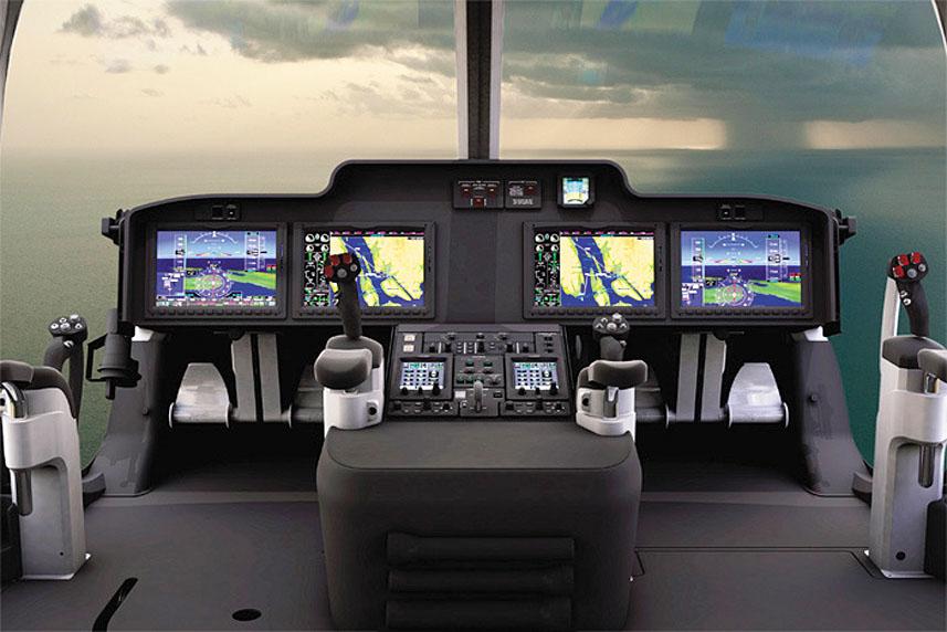 Вертолет Bell 525