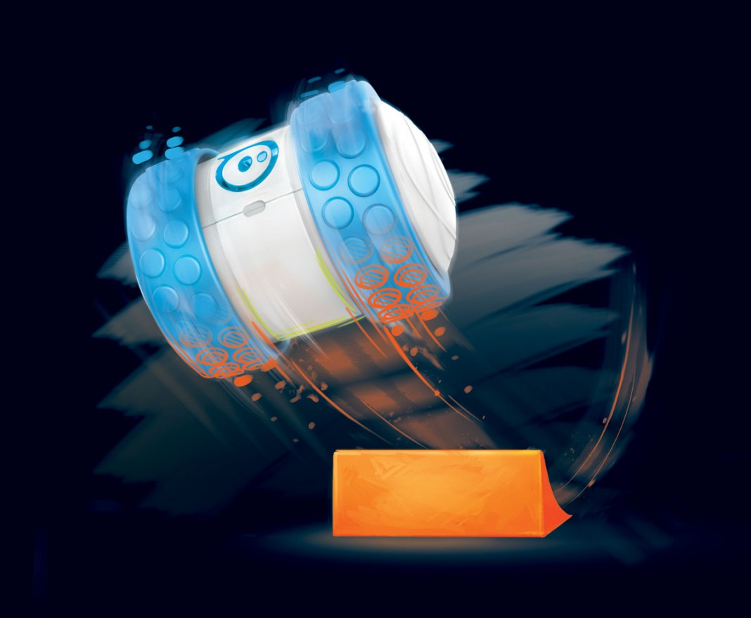 Обзор колесного робота Orbotix Ollie