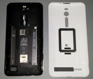 Аккумулятор у Zenfone 2 быстро снять не получится, а у модели ZE550ML отсутствует модуль NFC