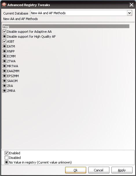 Графика Radeon.Выделенные параметры позволяют существенно улучшить качество сглаживания краев
