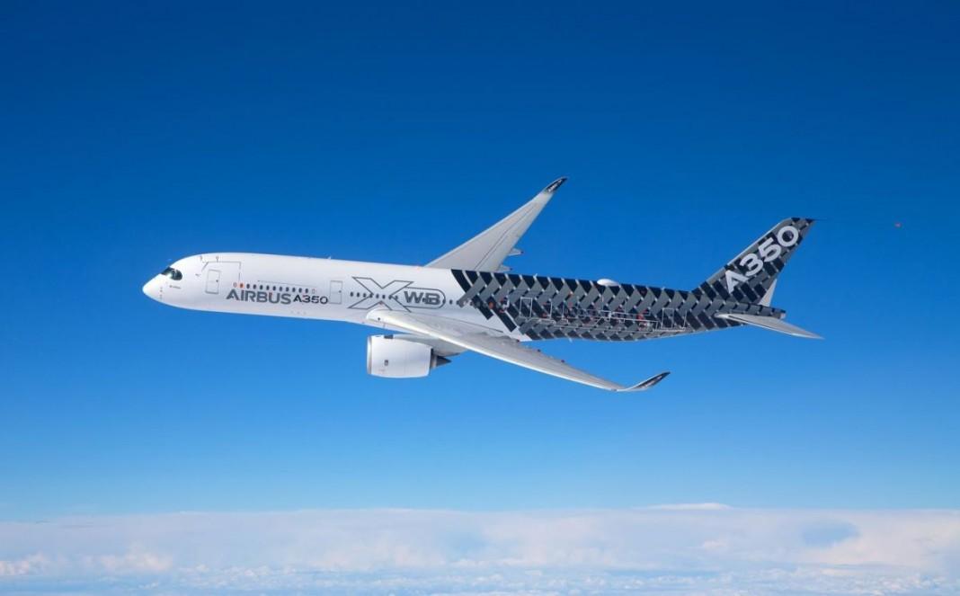 Самолет Airbus A350 XWB частично печатают на 3D-принтере