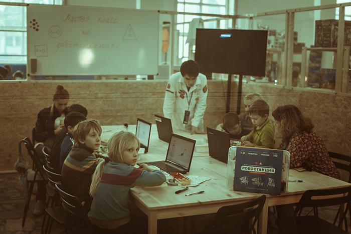 «Робошкола» для юных инженеров.