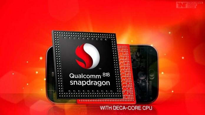 Характеристики 10-ядерного чипа Snapdragon 818