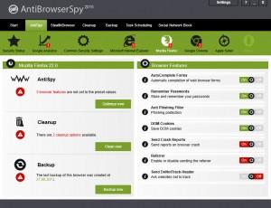 Anti Browser Spy