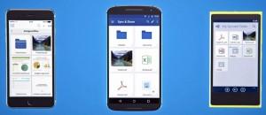 Специальное приложение позволяет осуществлять доступ к файлам и принтерам с мобильных устройств