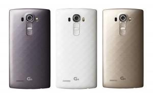 LG G4 можно приобрести и с задней крышкой из пластика, стилизованного под титан и керамику