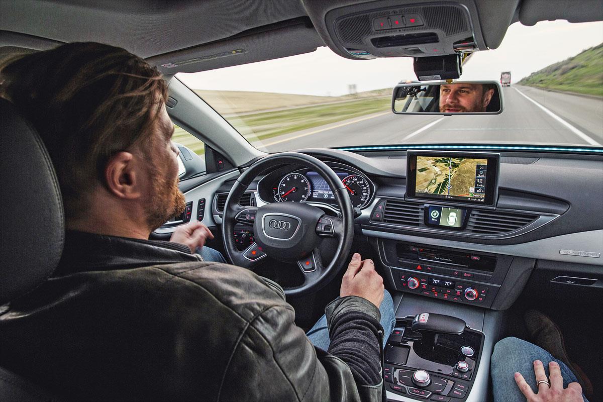 Беспилотные автомобили в сетях 5G
