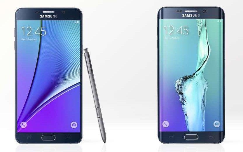 Samsung Galaxy Note 5 Samsung Galaxy S6 edge+