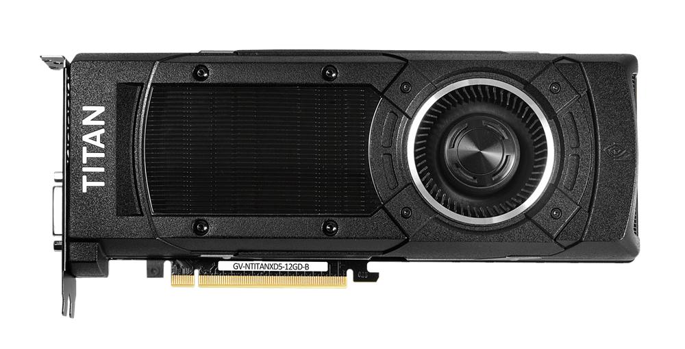 GigaByte GeForce GTX Titan X 12GB (GV-NTITANXD5-12GD-B)